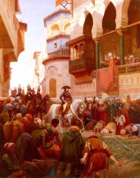 Napoleons Entry Into Cairo